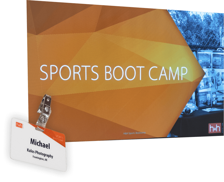 Sports bootcamps and summits at H&H Color Lab in Kansas City, MO.