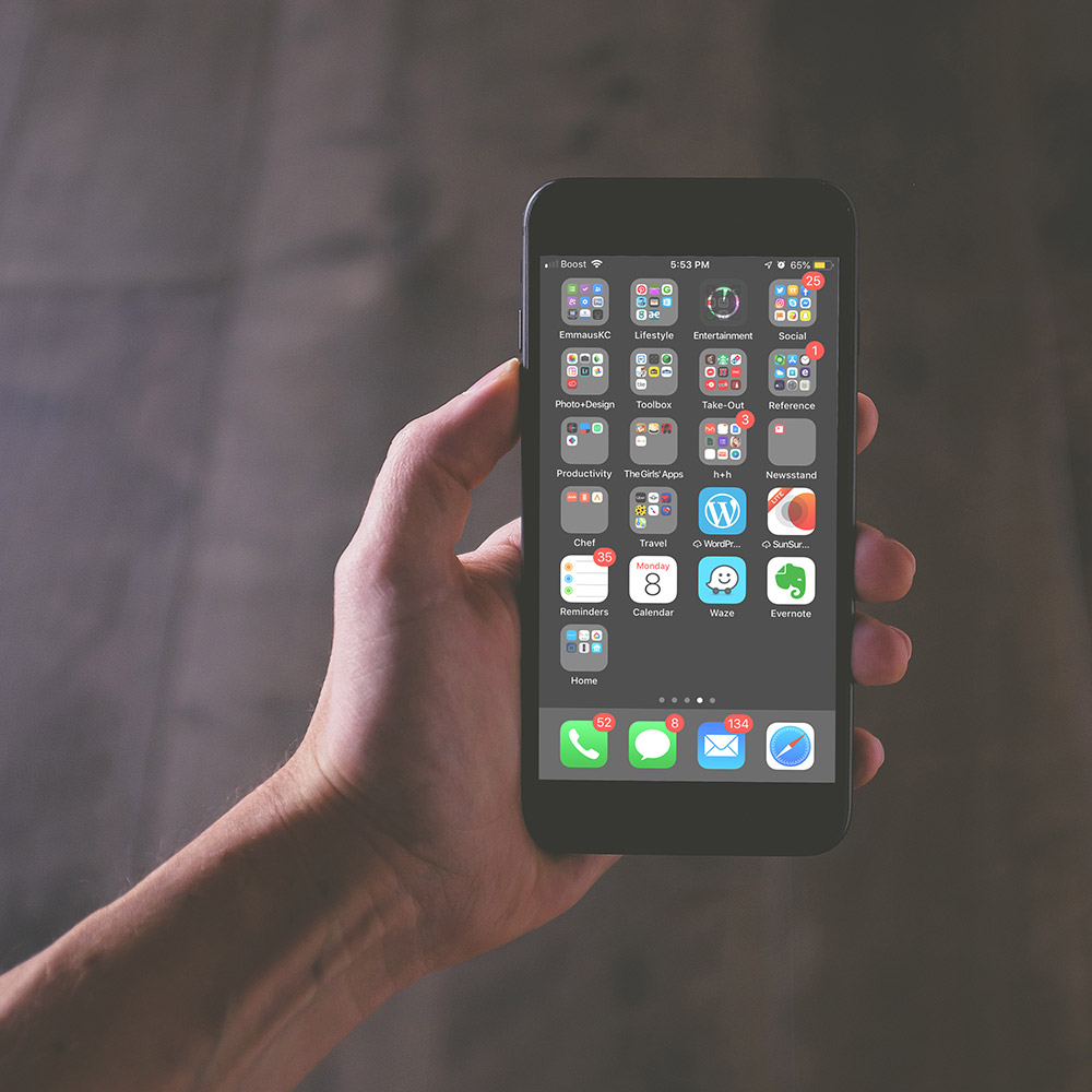 Did you know there are 75 apps on an average smartphone?