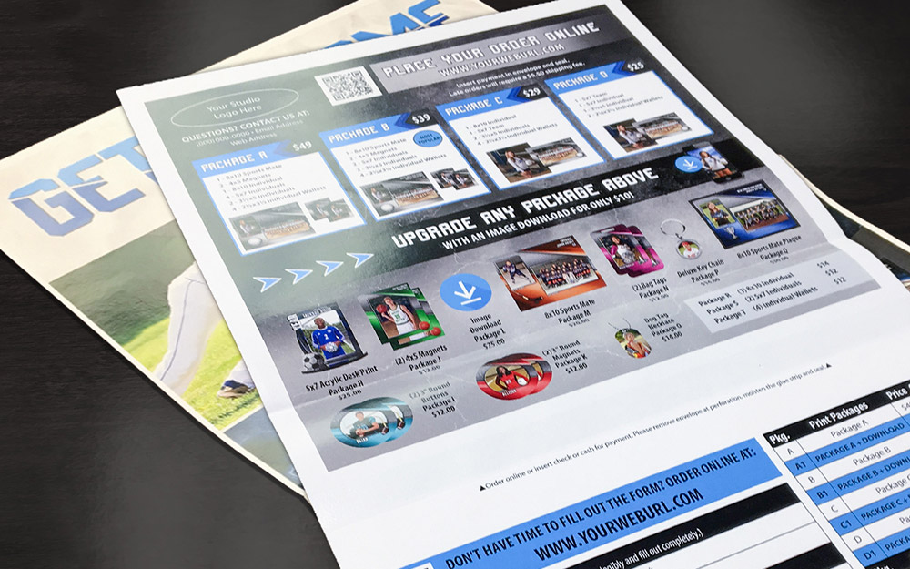 Successful studios create compelling packages that include print and digital files combined.