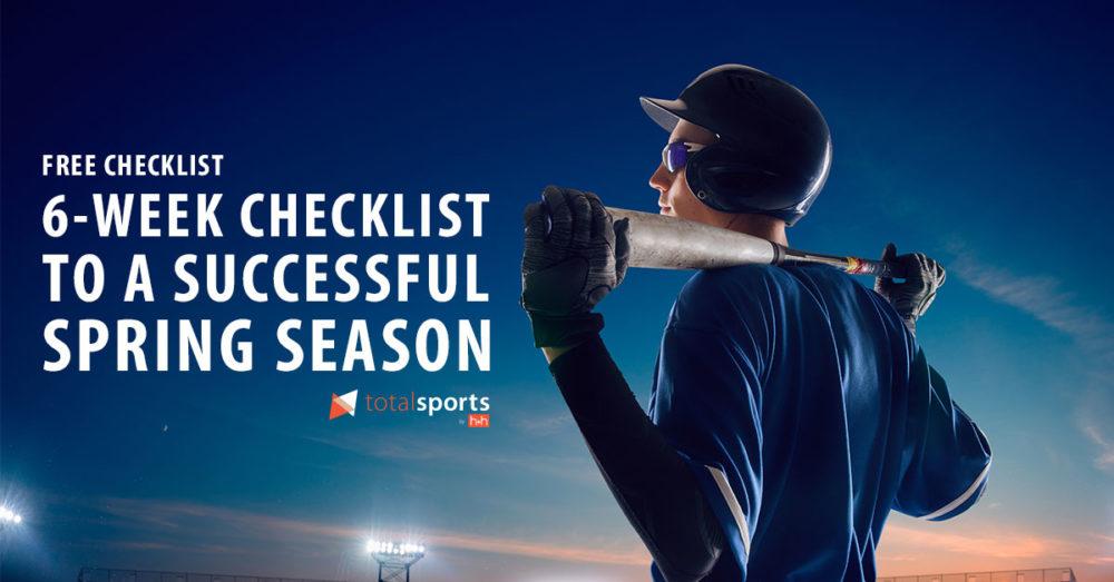 Spring Pre-Season Checklist