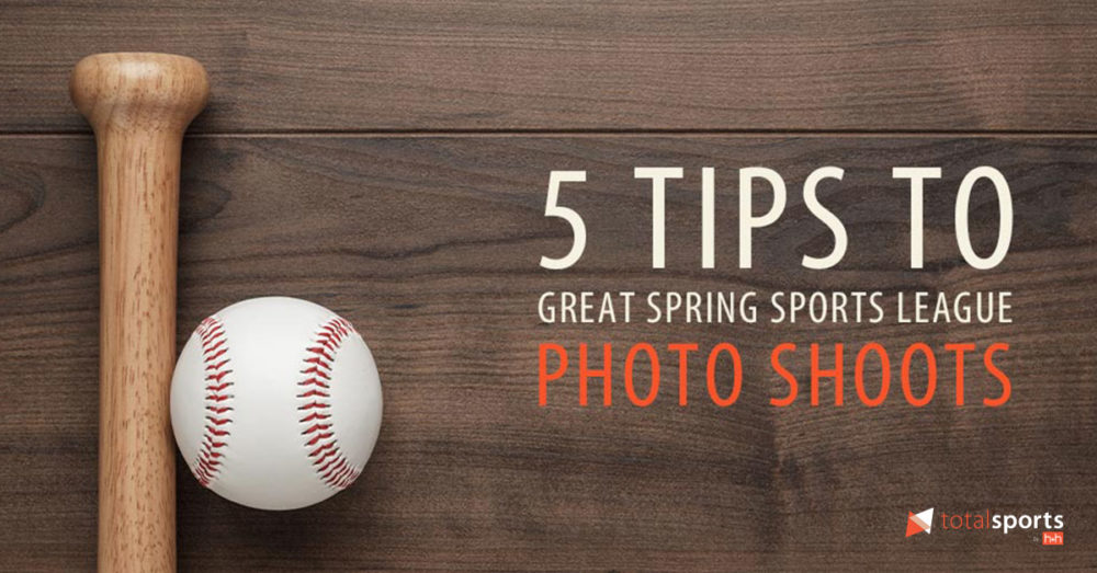 5 Tips to Great Spring League Sports Photo Shoots