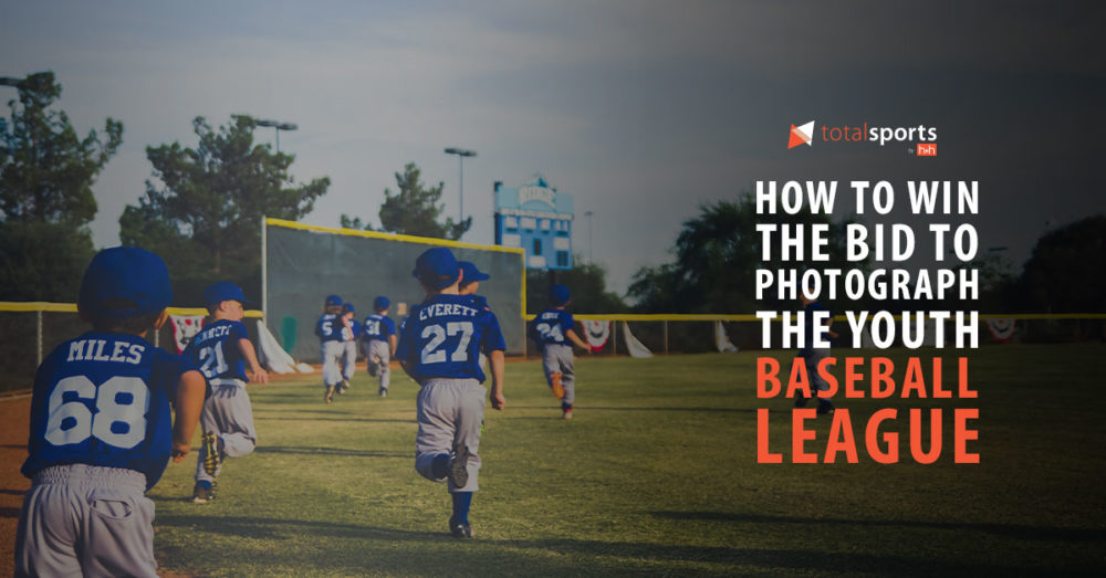 How to Win the Bid to Photograph the Youth Baseball League